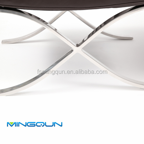 Barcelona Chair Frame With Stainless Steel