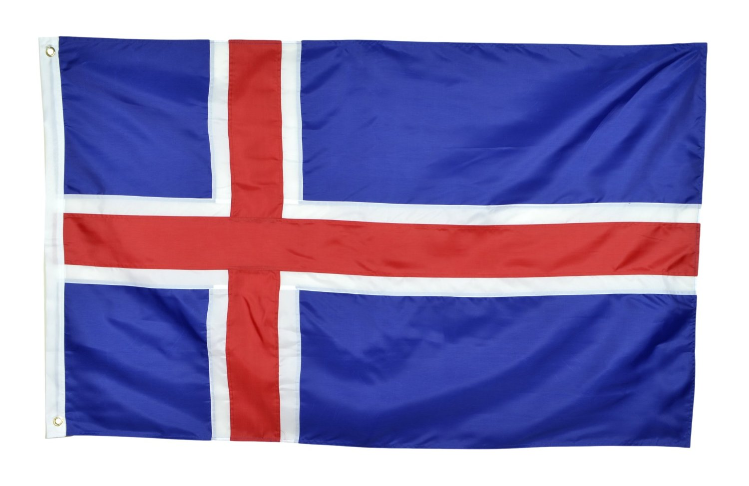 42e26f088801 Get Quotations · Shop72 - Iceland Flag Sewn Stripes Sturdy 201D Oxford  Nylon Country Flags - World Flag -