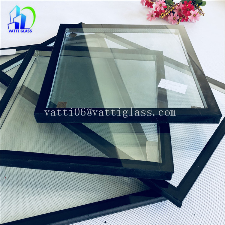 Heat preservation noise insulation high quality tempered insulated glass for building glass