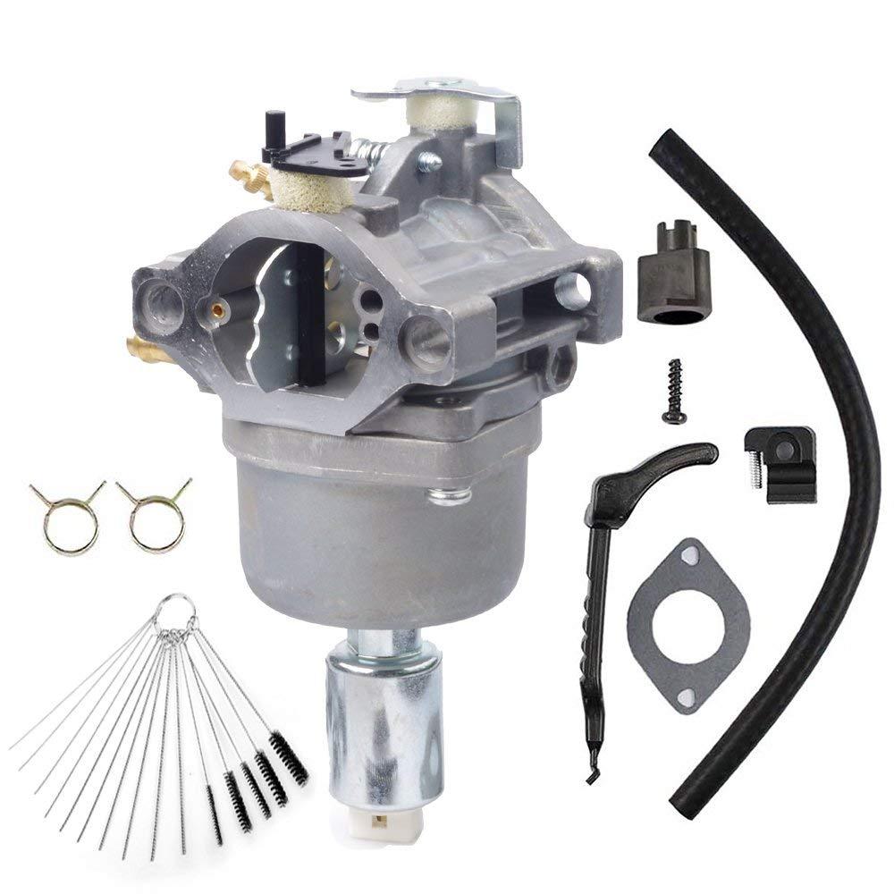 Dosens 799727 Carburetor for 14hp 15hp 16hp 17hp 18hp Briggs & Stratton Carburetor 698620 791886 690194 Carb with Gasket & Carbon Dirt Jet Cleaner Tool Kit