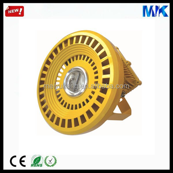 Explosion Proof COB Aluminum Heat Sink LED Flood Lamp Ficture Gold 100w 120w