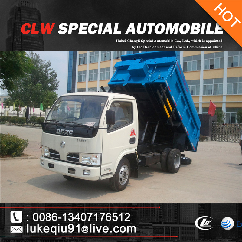 Dongfeng tipper garbage truck