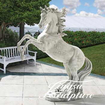 Delicieux Popular Design Stone Horse Garden Statue