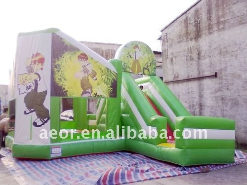 Ben 10 inflatable bouncy castle