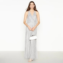 2019 mujeres ropa elegante sin mangas fiesta <span class=keywords><strong>plata</strong></span> lentejuelas vestidos <span class=keywords><strong>de</strong></span> noche