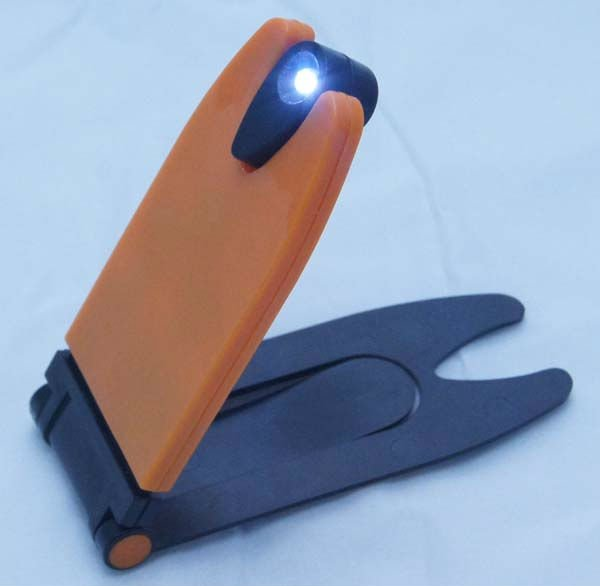 Led Foldable Clip Bookmark Mini Book Reading Light
