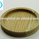 CUSTOM oak beach rubber wooden table tea bottle cup coaster