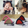 10pcs 2016 Novelty Item Little Girl Hair Clips Cat Ears Kids Hairgrips Child Duck Hairpin Birthday
