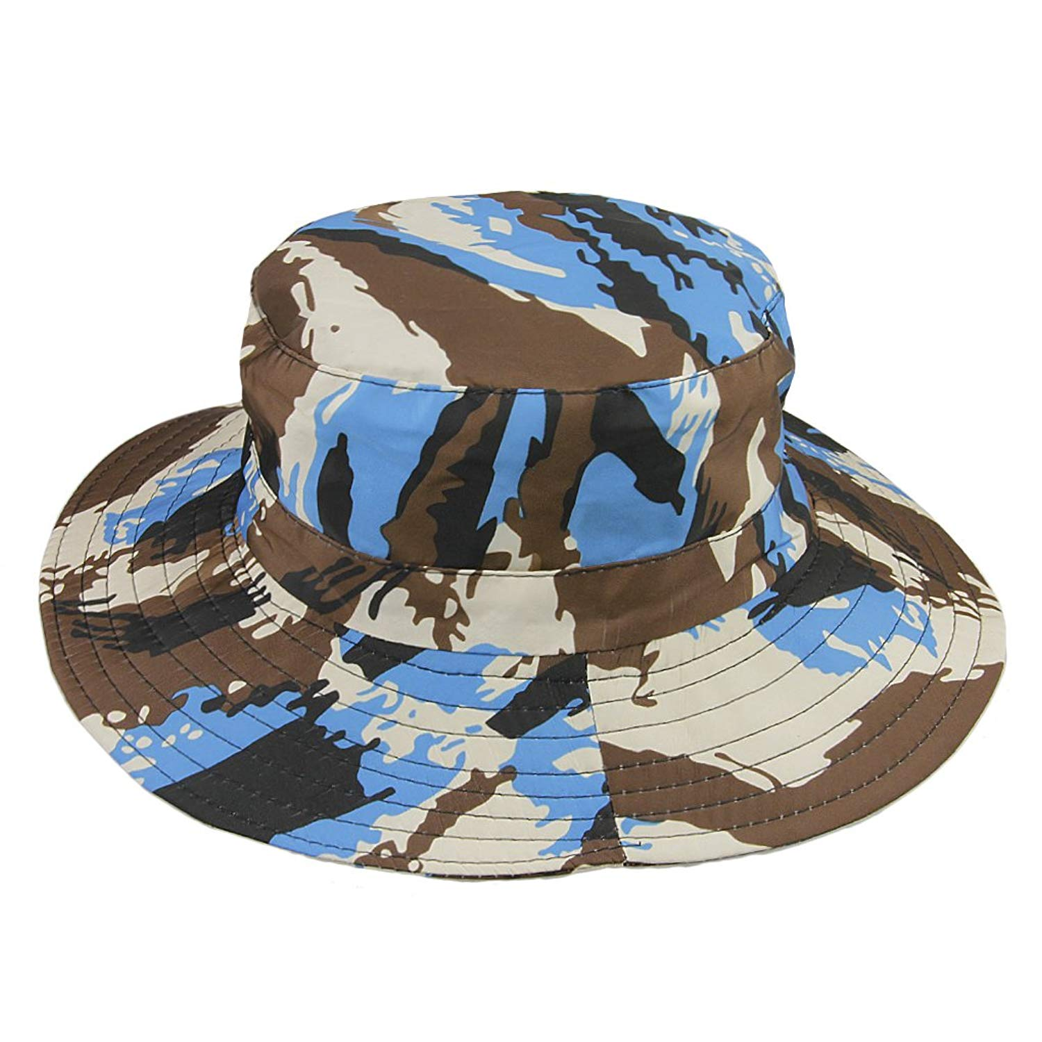 fa7daa0b92f Get Quotations · Kids Boonie Hat Sun Hats Boys Girl Toddler Child Wide Brim  Hat Sunhat Sunbonnet