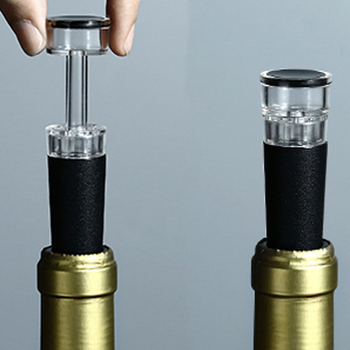 Custom food grade silicone best temperature to store wine bottle chiller  cheap fancy banana wine stopper
