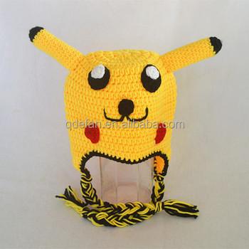 Cute Handmade Baby Crochet Pikachu Hat For Newborn Photo Props Buy