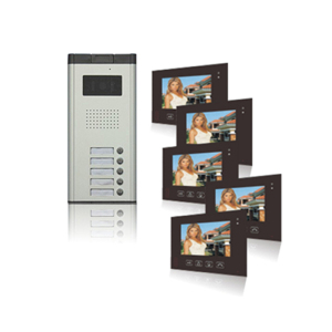 "Door To Door 7"" HD Video Door Phone System/IP Intercom"