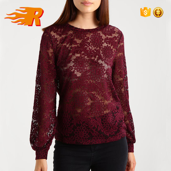 db8bc2fc 2017 Latest Design Women Round Neck Lace Tops Blouse - Buy Lastet Women  Casual Blouse Designs,Women Lace Tops Blouse,Latest Lace Blouse Design  Product ...