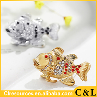 2016 new design of Brooch jewelry cc brooch woman brooch fish 2c use for wedding and party fashion jewelry