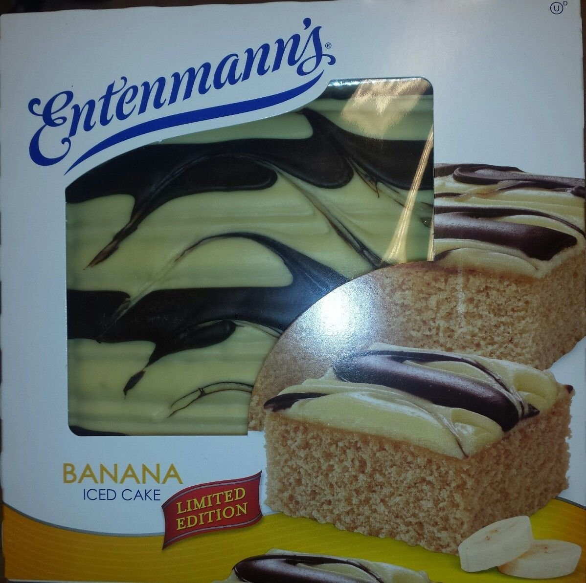 Get Quotations Entenmanns Iced Cakes BONUS 1 Crumb Cake Individually Wrapped Banana Limited Edition