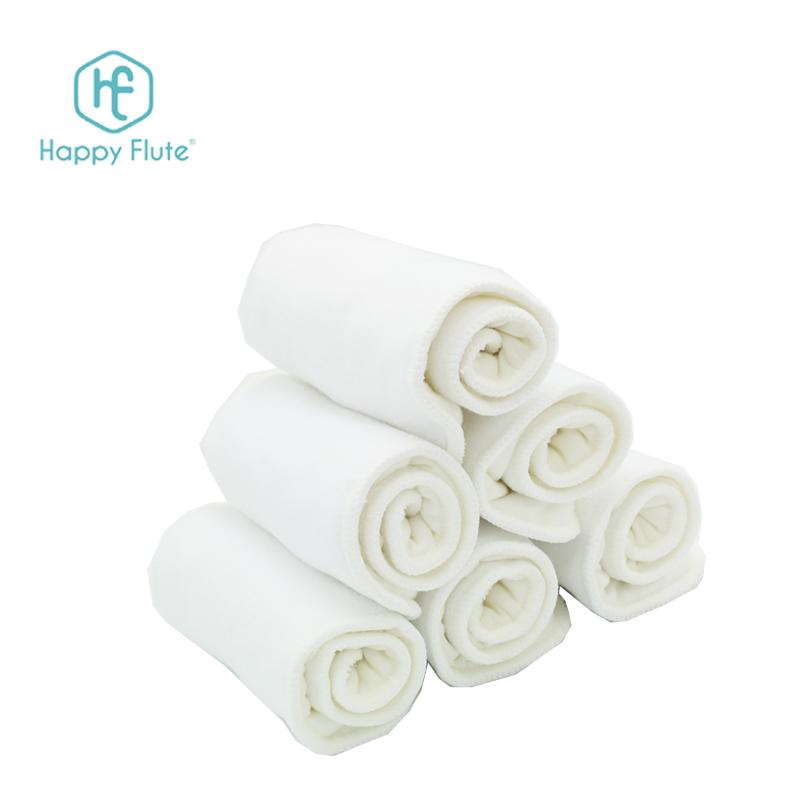 happy flute baby cloth diaper insert microfiber diaper liner heavy night insert wholesale