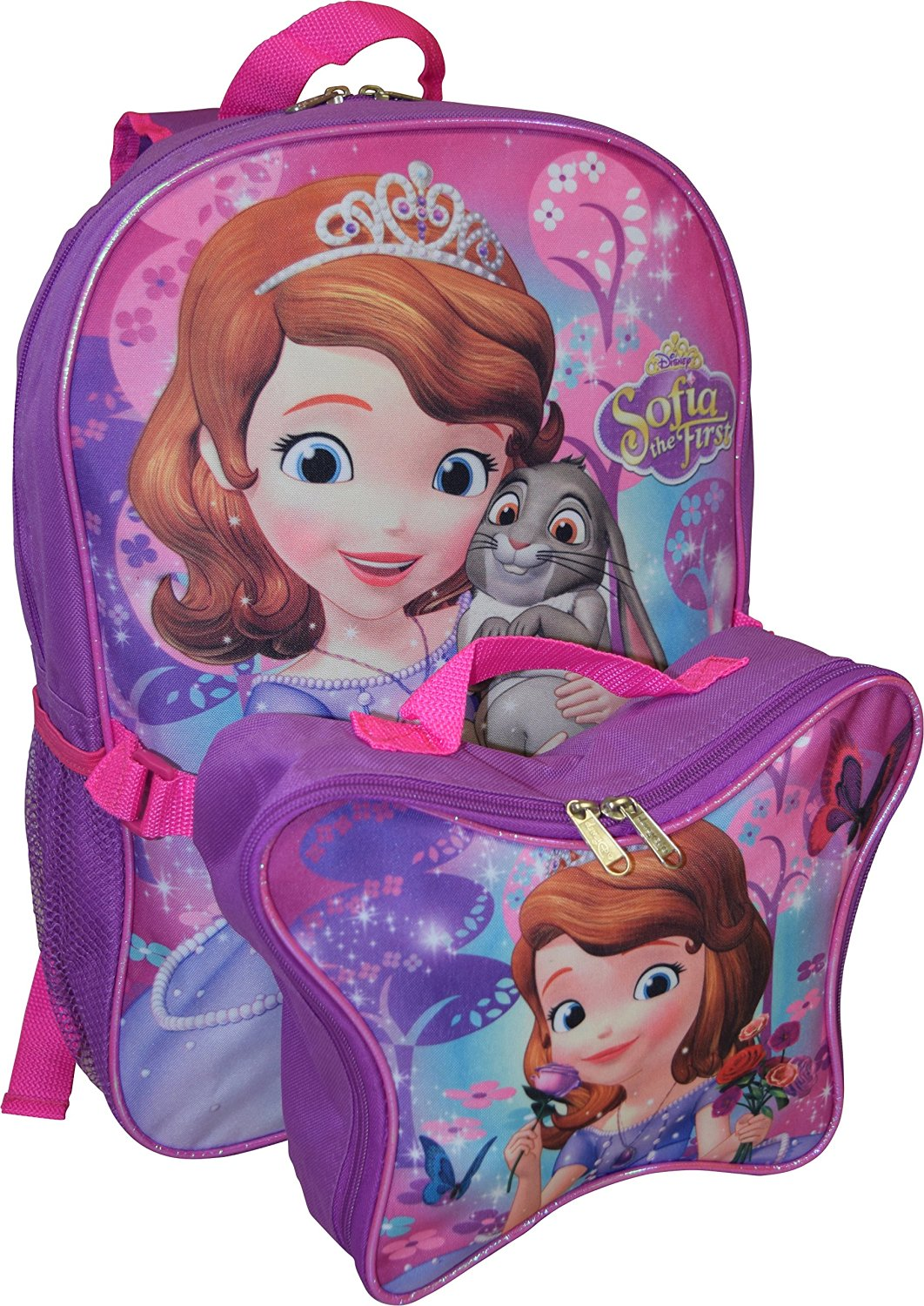 c71ce55bfac Buy Disney Princess Sofia Backpack W  Detachable Lunch Box in Cheap ...