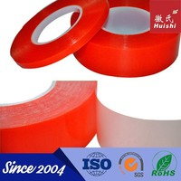 plastic sticker sheet double sided PET tape strong sticker roll