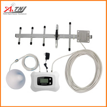 LCD Display+The Most Intelligent Speed System Yagi + Ceiling Antenna 800mhz Mobile signal booster/Amplifier/repeater For 4G LTE