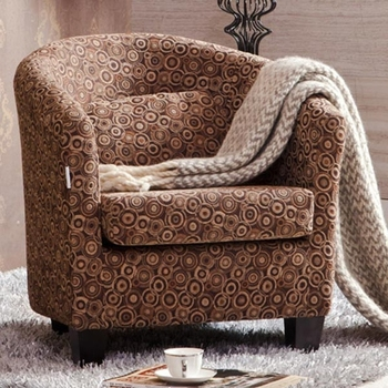 ZOY 81700 Small Round Sofa Chair For Bedroom  Club Accent Chair. Zoy 81700 Small Round Sofa Chair For Bedroom Club accent Chair