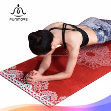 2017 new arrival Eco friendly anti-slip yoga matt with factory wholesale price