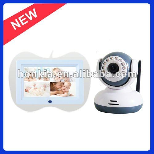 Wireless Digital 7.0inch Baby Monitor, Supporting SD Card Recording