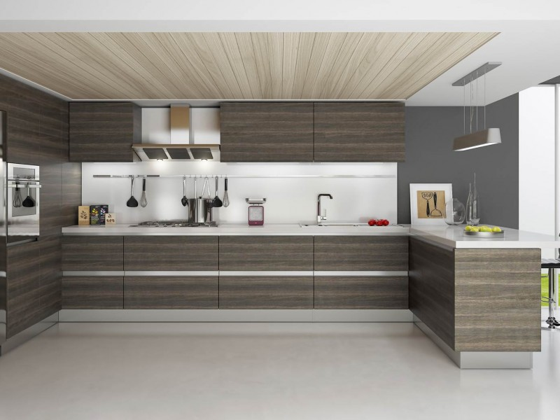 2017 Modern Ethiopian Furniture Kitchen Cabinet 3d Kitchen Aluminium