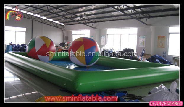 PVC high quality inflatable swimming pools walmart