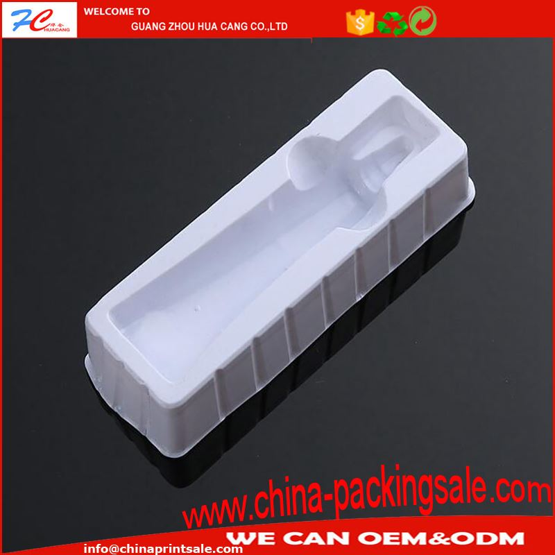 Clear PVC capsule blister pack for electrical