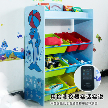 Preschool Furniture Kids Toy Storage Container With Children Book Shelf For  Kindergarten