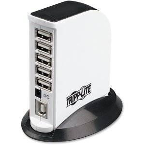 """Tripp Lite, 7-Port Usb 2.0 Hi-Speed Hub Hub 7 X Usb 2.0 Desktop """"Product Category: Networking/Usb/Serial Hubs"""""""