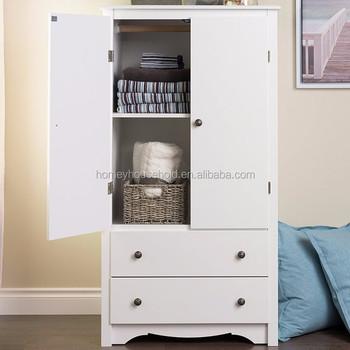 Wooden Storage Cabinets White Monterey Children Bedroom Furniture 2 Door  Wardrobe - Buy Children Bedroom Furniture Product on Alibaba.com