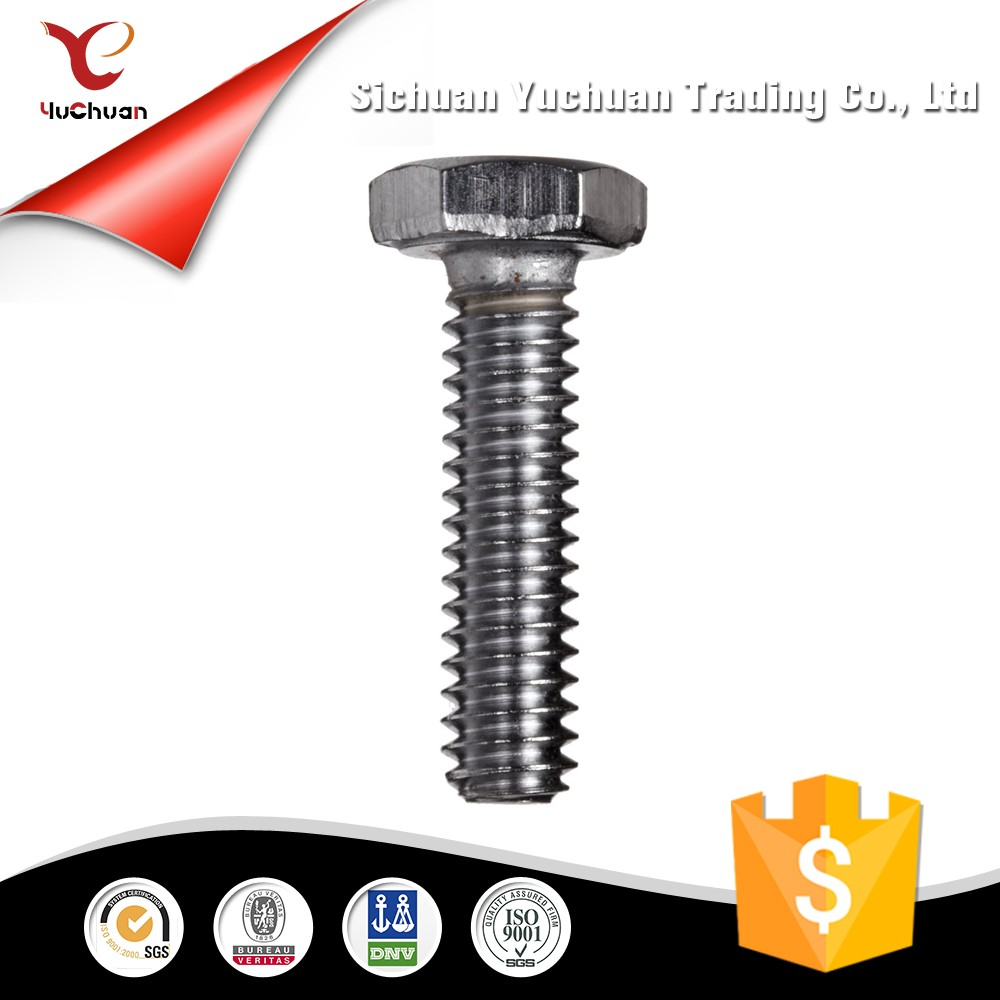 Stainless Steel Through Bolts