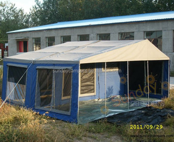 High quality c&ing trailer pop up tent & High quality camping trailer pop up tent View High quality ...