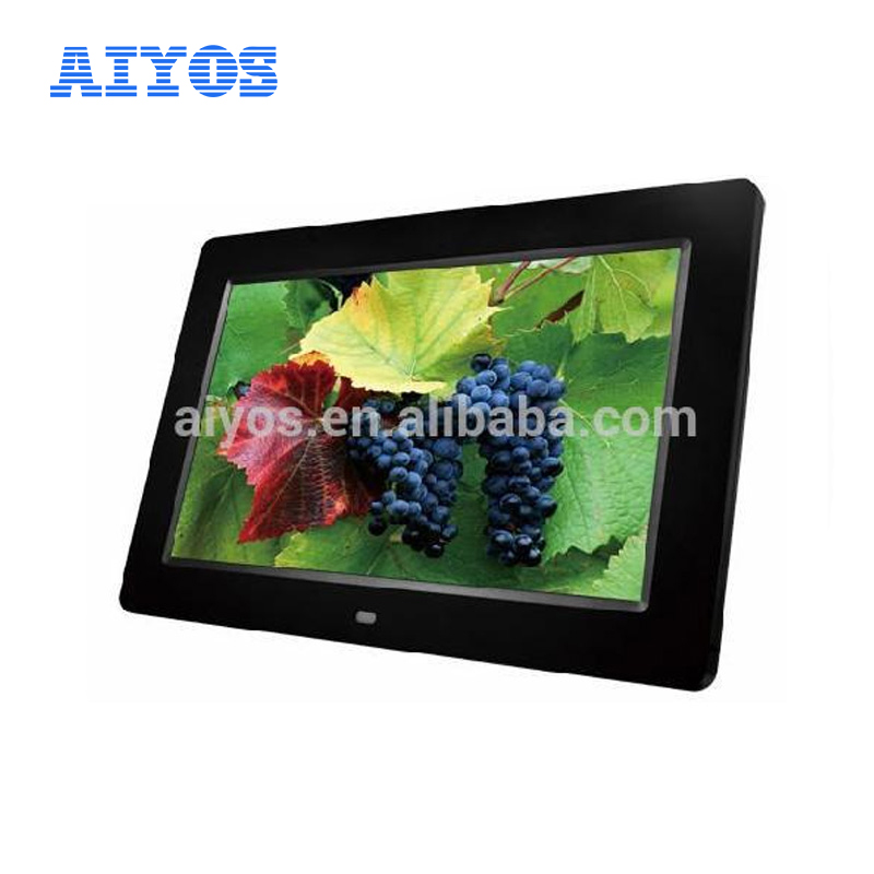 10 inch Metal Frame Video Mp4 Digital Picture Frame