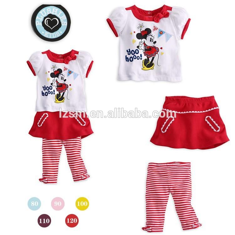 revisa 4d1d4 029ee Ropa para niñas pcs 3 manga corta t- shirt venta al por mayor ropa para  niños juegos-Conjuntos para niñas-Identificación del ...