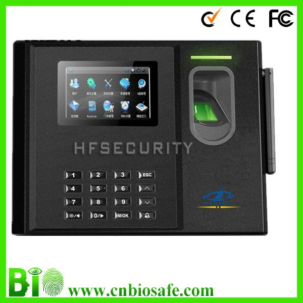 HF-Bio800 Network Fingerprint Identification Time Attendance and Access Control Terminal