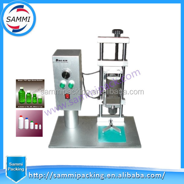 Free Shipping Good Quality DDX450 water bottle capping machine for cap diameter 10-50mm