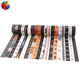 YEDDA brand hot sale new design happy christmas style custom printed washi tape wholesale masking tape