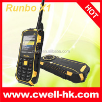 Newest Runbo X1 IP67 Waterproof android mobile phone