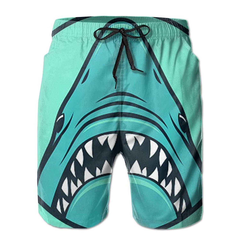 82f5754598 Get Quotations · Mens Shark Beach Shorts Swimming Trunks Cargo Shorts