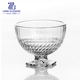 3.5'' Beaded Bottom Glass Trifle Bowl