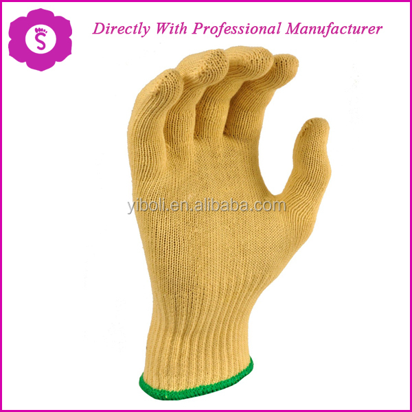 Aramid Fiber 1313 Made Knitting Cut Resistant And Heat Resistant ...
