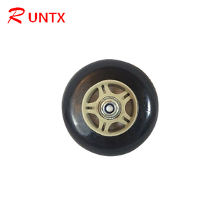 Factory Price Forklift Solid Support Wheel/Rubber Wheel with Steel Core
