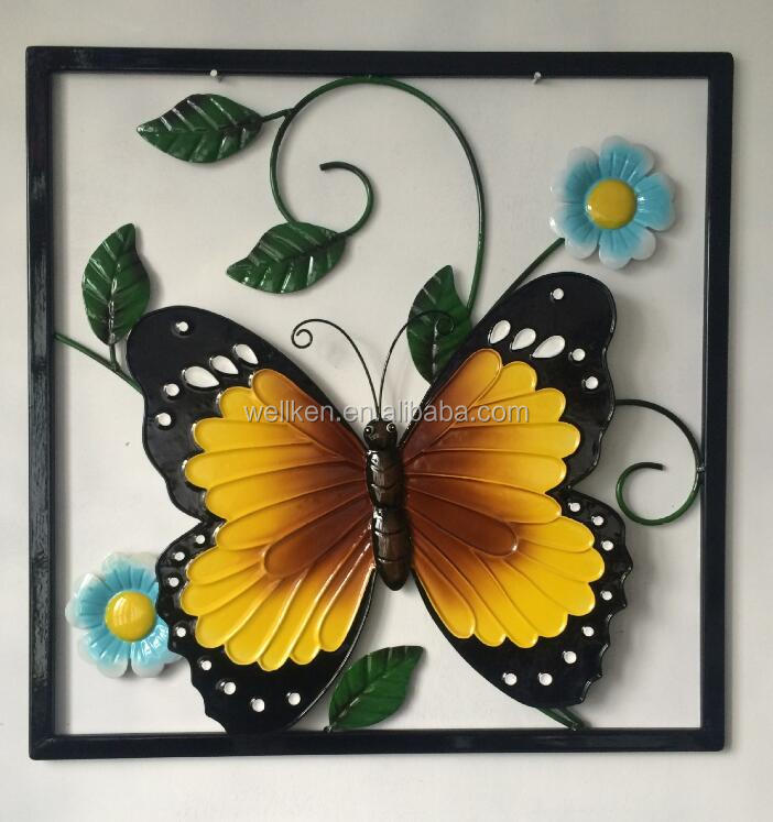 Metal Butterfly Wall Decoration, Metal Butterfly Wall Decoration Suppliers  And Manufacturers At Alibaba.com