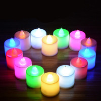 Dancing Flame LED Candle with Timer and remote control using for home decoration or birthday ,safe packed birthday candle