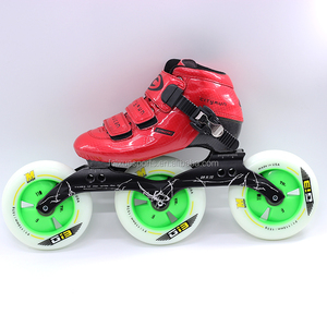 wholesale professional speed inline skates three wheels shoes with matter wheels