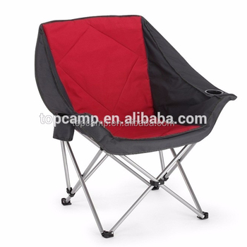 Camping Chair With Large Seat Area
