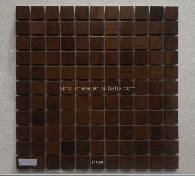 23*23mm Vintage Copper Murals Exterior Decorative Wall Mosaic