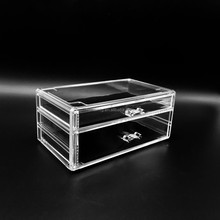 Top quality Custom PS Plastic Clear Acrylic Cosmetic Beauty Makeup Organizer